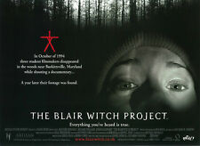 The Blair Witch Project movie poster - 12 x 16 inches (style b)