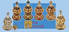 Orthodox Standing Vigil Lamp With Lid +FREE Wicks Orthodoxe Ikonenampel Kantili