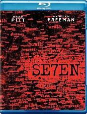 SE7EN - Dir. David Fincher, Brad Pitt, Morgan Freeman (Blu-ray, 2011) Seven