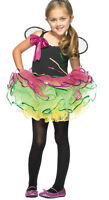 RAINBOW BUTTERFLY SPARKLY FAIRY AGE 3 4 COSTUME LEG AVENUE GIRLS PAGENT C48151
