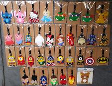 Minions Batman Sipderman Ninja Turtles Iron Man Totoro Luggage Tag School Bag