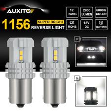CREE 1156 BA15S P21W 7506 LED Backup Reverse Lamp Bright White 6000K 2800LM 2pcs