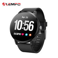 Lemfo V12 Montre Intelligente Étanche heart rate monitor for Huawei iPhone