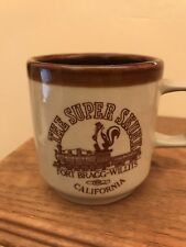 Vintage The Super Skunk Railroad Fort Brag Willits California Coffee Cup Mug