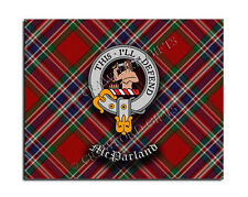 McParland Clan Mouse Pad - Scottish Design Mat - High Quality - Tartan