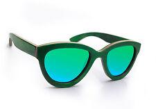 Occhiali da sole da donna con montatura in verde polarizzate
