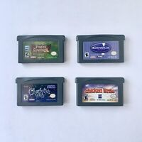 Nintendo GBA Gameboy Advance Game Lot 4 Games