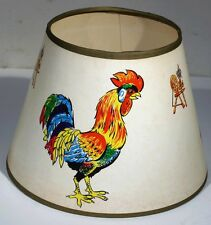 vintage rooster chicken lamp | eBay