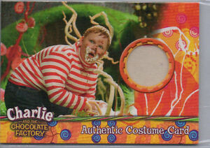 Charlie And The Chocolate Factory Autograph Prop & Costume Card Selection NM