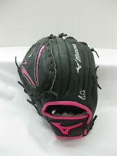 "Baseball Softball Glove Youth Size Mizuno 10"" Black Pink Left Hander"