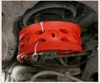 2Pcs/Set D-Type Car Shock Absorber Suspension Cushion Buffer Spring Bumper