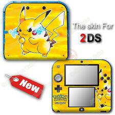 Pokemon 20th Anniversary Pokémon Yellow Edition Skin Sticker Decal Cover for 2DS