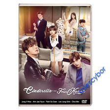 "BUY 5 GET 1 FREE"" Cinderella and Four Knights Korean Drama (4DVD) Excellent Eng."