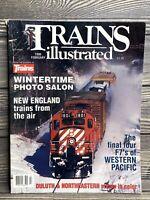 Vintage Magazine Trains Illustrated February 1990 Railroads