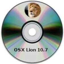 Unità DVD DL programma di installazione: OS X  Lion 10.7
