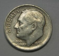 Nice 1952-S Silver Roosevelt Dime in Average Circulated Condition   DUTCH