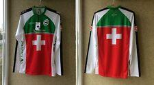 Federation Jersey Suisse Cycling Assos Jersey XS Camiseta Switzerland Shirt