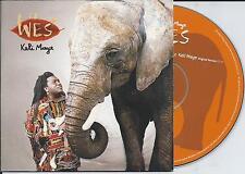 WES - Keli maye CD SINGLE 2TR CARDSLEEVE 2000 Euro House FRANCE
