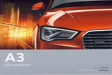 Audi A3 Sportback e-tron 07 /  2014 catalogue brochure English