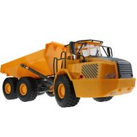 RC Toy 6CH Remote Control Big Dump Truck 6 Functional Loaded Sand Vehicle Toys