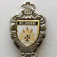 Melbourne Coat Of Arms Souvenir Spoon Teaspoon (T121)