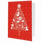 NEW- Christmas Tree 4x6 Holiday Photo Frame  Pack of 100  - Heavy Card Stock