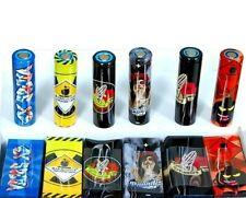 12 x colorido envolturas de Manga Protectora Piel 18650 Batería PVC Envolturas De Calor