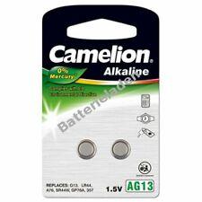 Camelion Knopfzelle LR44 2er Blister 1,5V  Alkaline