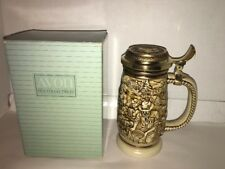 "AVON 1987 Collectible Lidded Beer Stein ""The Gold Rush"""