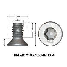 FORD S-MAX (2006->2013) 2 x FRONT BRAKE DISC RETAINING SCREWS DRS1670B