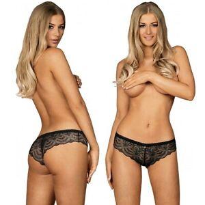 Slip culotte da donna OBSESSIVE lingerie intimo sexy mutandine con pizzo firella