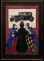 Maquette d'Affiche Originale - Leonetto Cappiello - Studebaker Automobile - 1926