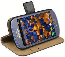 mumbi Ledertasche für Samsung Galaxy S3 Mini Tasche Hülle Case Cover Klapptasche