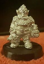 Warhammer 40k Spacemarine 1988 Squat Servitor Metal long oop very rare unpainted
