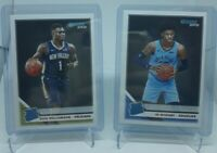 2019-2020 Donruss Zion Williamson #201 Ja Morant #202 Rated Rookie Lot RC 🔥📈🔥
