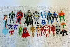 DC Comics Justice League Unlimited Batman Brave Bold Animated Series Figure Lot