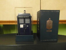 More details for  dr who tardis with a new zealand royal mint silver proof 925 tardis coin