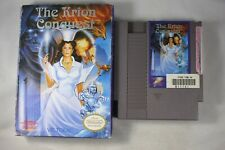 The Krion Conquest (Nintendo NES) with Box FAIR
