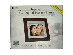 Giinii GN-716-N, 7″ Digital Picture Frames, BROWN  new Open Box free shipping