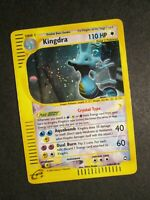 PL Pokemon Crystal KINGDRA Card AQUAPOLIS Set 148/147 Secret Rare Holo AP