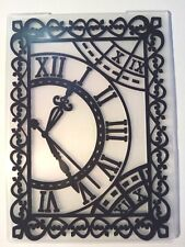 Orologio Di Tempo Steampunk Cartella di Goffratura cartolina d'auguri, rendendo Scrapbooking Diario