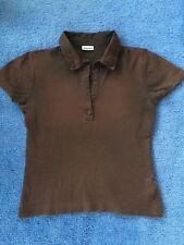 braunes Damen Poloshirt von Street One Größe 38
