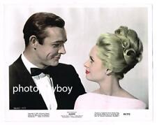 SEAN CONNERY TIPPI HEDREN HITCHCOCK MARNIE ORIGINAL COLOR MOVIE PORTRAIT #6 1964