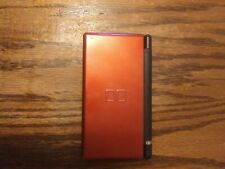 Nintendo DS Lite Metallic Red Handheld System No Stylus or Charger TESTED works