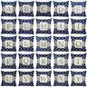 "Alphabet Letter A-Z Monogram Throw PILLOW COVER Sofa Couch Cushion Case 18x18"""