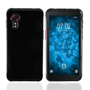 Coque en Silicone Samsung Galaxy Xcover 5 - crystal-case noir Cover