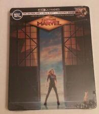 New 4K steelbook!  Captain Marvel 4K Ultra HD + Blu-ray/Digital
