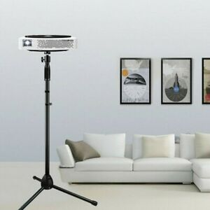 """28 To 58"""" Projector Stand Heavy Duty Tripod Height Adjustable For Home Office"""