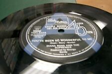 oz issue 45  DIANA ROSS/ SUPREMES A SIDED PROMO YOUVE BEEN SO WONDERFUL TO ME