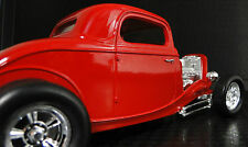 1 Vintage Ford 1930s Hot Rat Rod Race Car Drag Dragster Rare Carousel Red 18 GT
